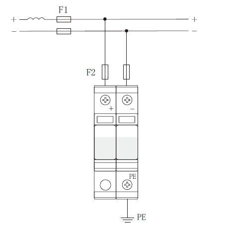 光伏电源系统电涌保护器 :AM40-300;AM40-400;AM40-500;AM40-600;AM40-800 标称工作电压Un:300VDC;400VDC;500VDC;600VDC;800VDC 最大持续工作电压Uc:450VDC;550VDC;650VDC;800VDC;950VDC 标称放电电流In(8/20μs):20kA 最大通流容量Imax(8/20μs):40kA 保护水平Up:1.